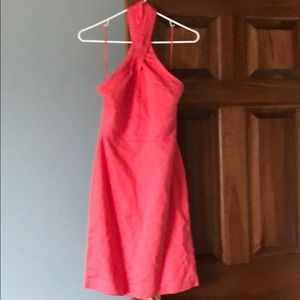 Pink chic dress. Perfect for casual gathering.